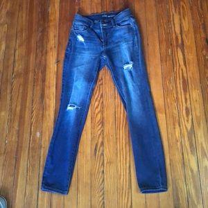NY&C ripped skinny jeans